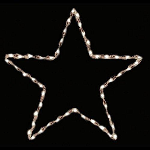 27 inch Outdoor Star outline Nativity Christmas Display - 50 Bulbs