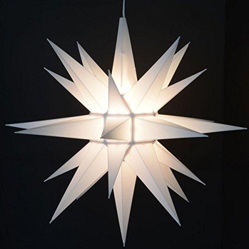 Advent Stars Moravian Star Indooroutdoor Christmas Decoration Light 21-inches