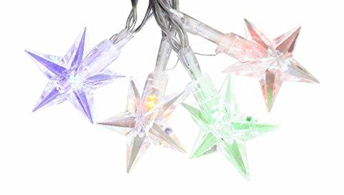 Lightahead 40 Led 8 Modes 7 M  23 Feet Changing Color Solar Light String Star Solar Fairy String Lights For Outdoor