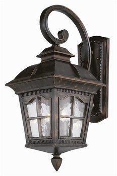 Trans Globe Lighting 5420 Ar 25-12-inch 2-light Outdoor Medium Wall Lantern Antique Rust