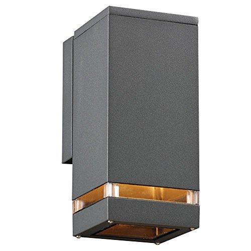 PLC LIGHTING 1-Light Outdoor Fixture Porto-I Collection 1744BZ113GU24 Bronze