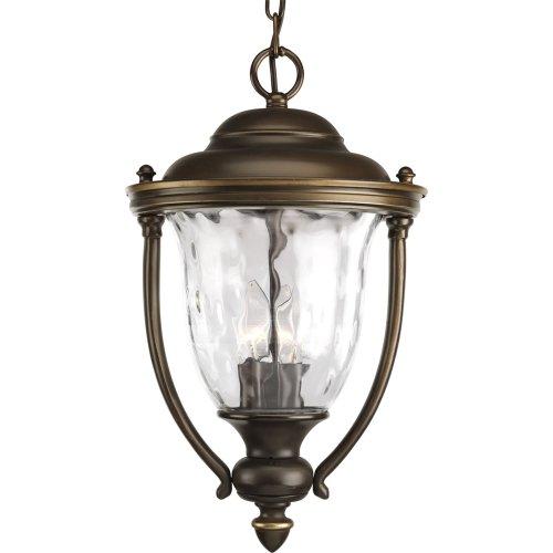 Progress Lighting P5584-108 Prestwick Bronze Outdoor Hanging Lantern