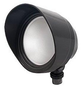 RAB Lighting LED Bullet Flood 12W Bronze Warm Outdoor Lighting Fixtur