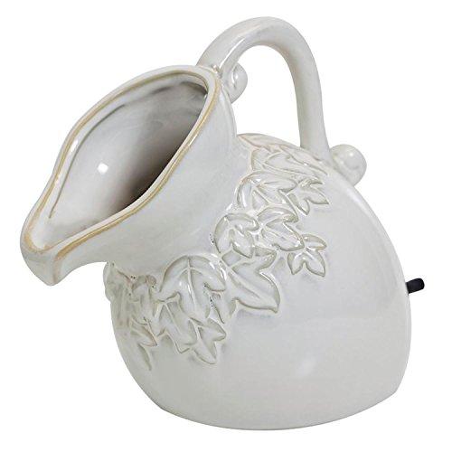 pond boss SPPC Ceramic Pouring Pitcher Spitter Cream