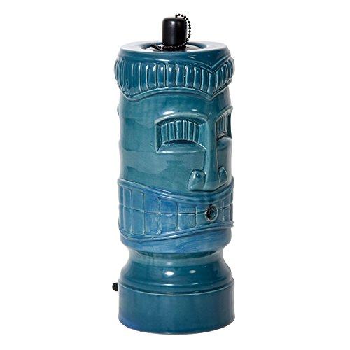 pond boss STIKIT Ceramic Tiki Torch Spitter Turquoise