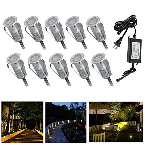 Low Voltage Led Deck Light Kitphi059&quot Yard Garden Patio Stairs Landscape Outdoor Waterproof Led In-ground Lights