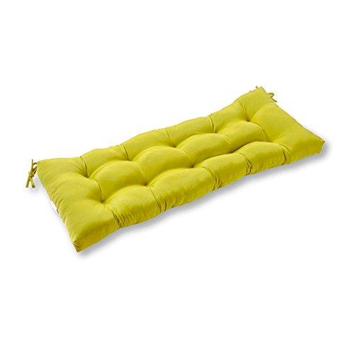 Greendale Home Fashions 44-Inch IndoorOutdoor SwingBench Cushion