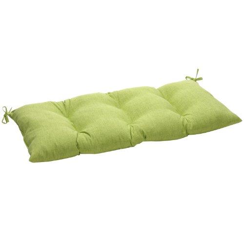 Pillow Perfect IndoorOutdoor Baja Lime Green SwingBench Cushion