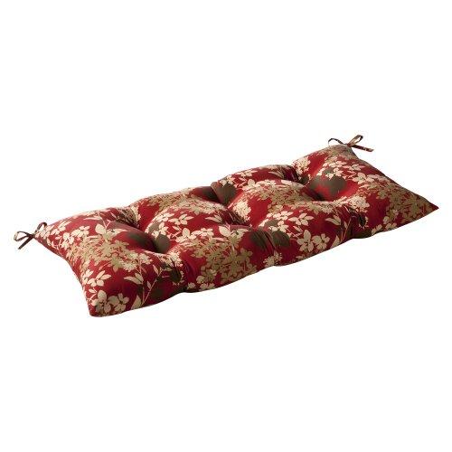 Pillow Perfect Indooroutdoor Montifleuri Red Swingbench Cushion
