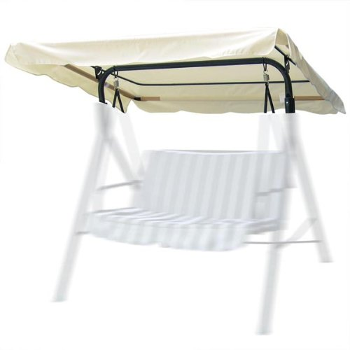 Outdoor Patio Swing - Canopy Replacement in Ivory