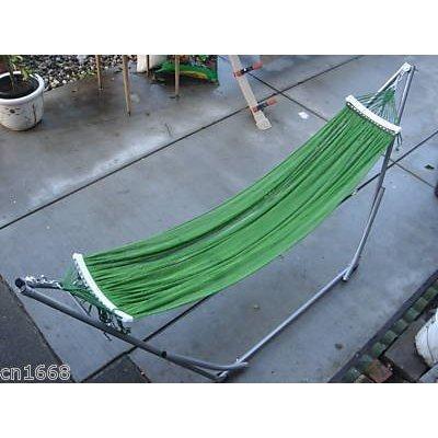 "Indoor/outdoor Ban Mai Adult Hammock Swing Bed With Adjustable Medium Duty Metal Frame 72"" For Adult Under 6 Feet"