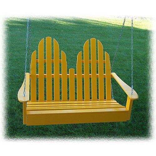 Prairie Leisure 4 Ft Adirondack Porch Swing