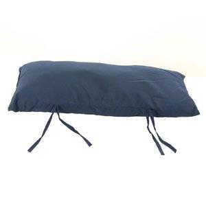 Sunnydaze Hammock Pillow Navy Blue 30 Inch Long x 12 Inch Wide