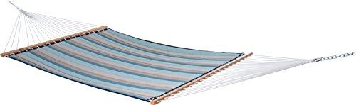 Vivere Sunbrella Double Quilted Hammock 450 lb Capacity Gateway Mist