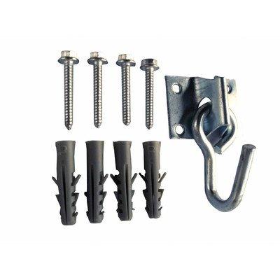 Vivere HOOK1 Single Hammock Hook with Fasteners