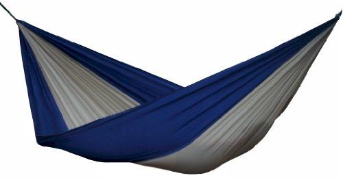 Vivere Parachute Nylon Single Hammock Beigenavy