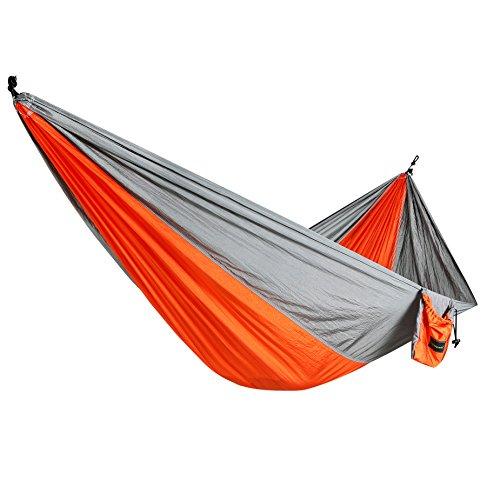 Hammock Itemporia&reg Portable Nylon Fabric Travel Camping Hammock Light Weight Outdoor Multifunctional Durable