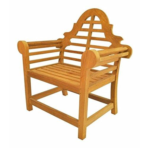 Anderson Teak Patio Lawn Garden Furniture Marlborough Dining Armchair