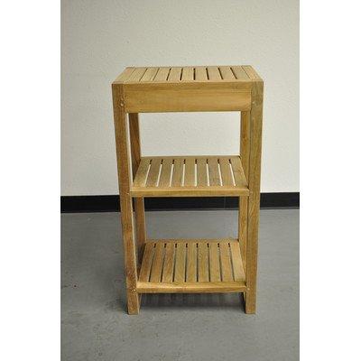 Anderson Teak Patio Lawn Garden Furniture Spa 2-Shelves Table