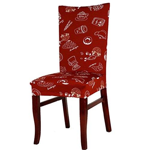 LEERYA Universal Stretch Spandex Dining Room Wedding Banquet Chair Cover C