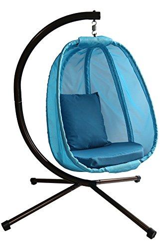 Flowerhouse Hanging Egg Chair Blue