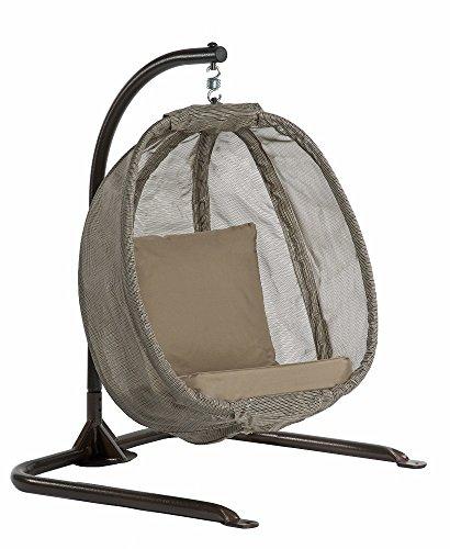 Flowerhouse Hanging Egg Chair Junior- Bark Fhjc100-brk