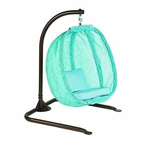 Flowerhouse Hanging Egg Chair Junior- Blue W Cloud Fhjc100-bc po455k5u 7rk-b230287