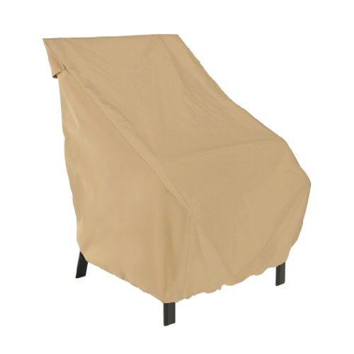 Classic Accessories Terrazzo Patio Chair Cover - All Weather Protection Outdoor Furniture Cover 58912