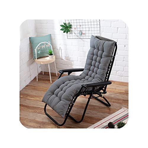 Long Cushion Recliner Rocking Chair Cushion Thick Seat Cushion Rattan Chair Sofa Cushion Garden Chair Cushion Tatami Mat1948X155Cm