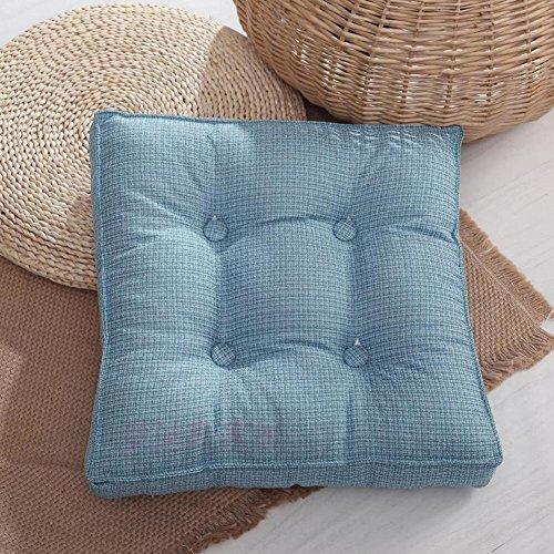 Thicken Removable seat Cushion Dining Chair pad Floor Pad Armchair Garden Chair Cushion-F 45x45cm18x18inch