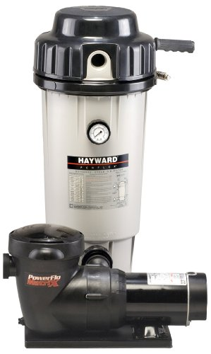 Hayward Ec50c93s Perflex 15 Horsepower Extended-cycle De Filter Pool System