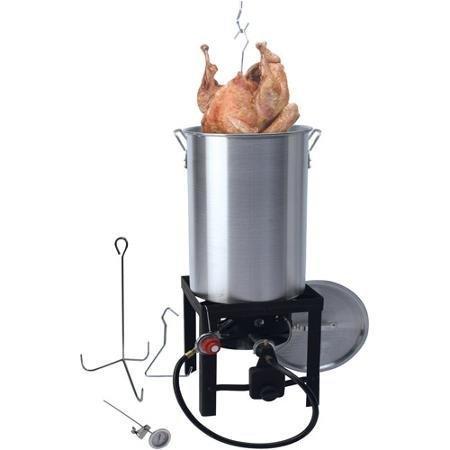 Grillsmith All-In-One 30 Qt Turkey Fryer