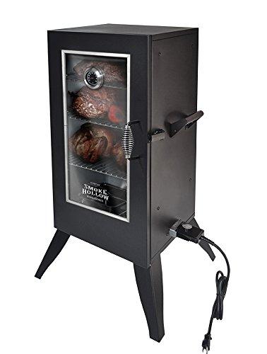 Smoke Hollow Electric Smoker with Window 30 Black