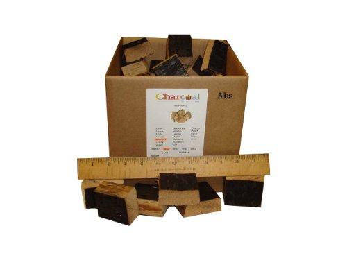 Charcoalstore Bourbon Barrel Wood Smoking Chunks 5 Pounds