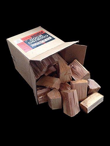 Cooking Wood Chunks - USDA Certified Kiln Dried Smoak Firewood White Oak 25-30 lbs