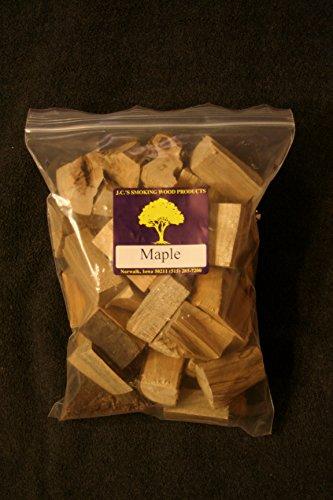 Jcs Smoking Wood Chunks - Gallon Sized Bag - Maple