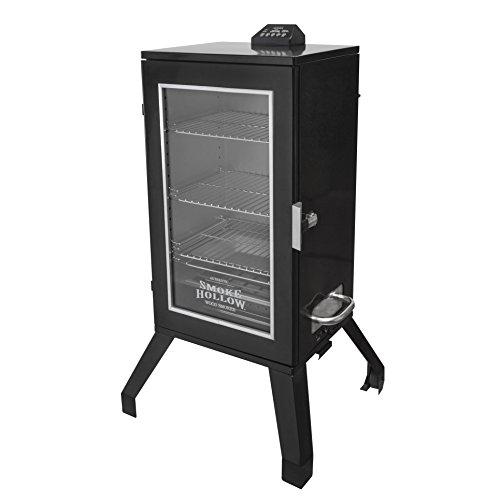 Smoke Hollow 3016DEW 30 Digital Electric Smoker with Window Black
