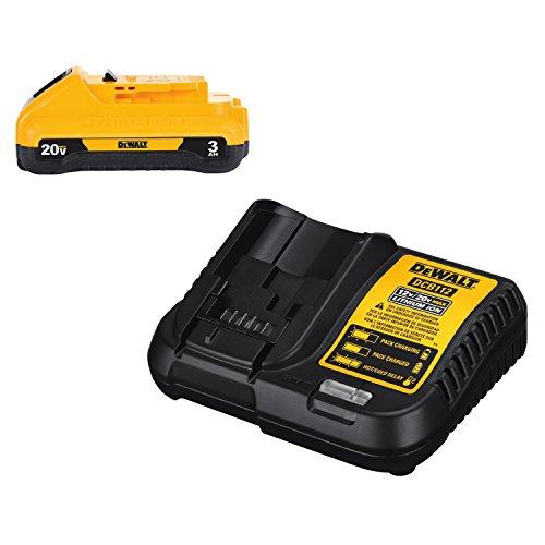 DEWALT 20V MAX Battery Pack with Charger 3-Ah DCB230C