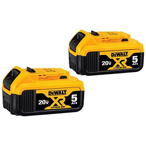 DEWALT 20V MAX XR 20V Battery 50-Ah 2-Pack DCB205-2