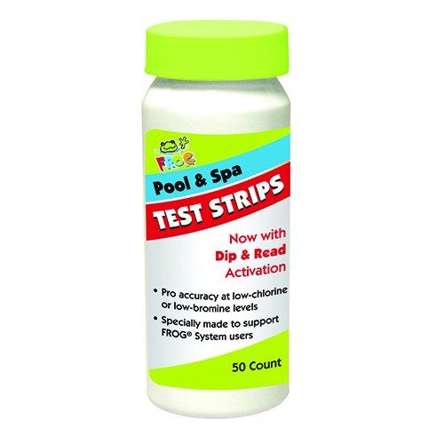 Spa Frog 4-way 50 Ct Swimming Pool/spa Water Test Strips Kit Chlorine Bromine Ph