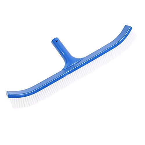 Strong Crystal Pool Broom Modern Attractive Design Easy Push Super Rigid Algae Remover And Molded Optimal Bristle