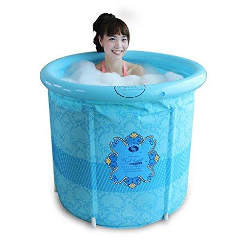 Wang&liangfolding Tub Inflatable Bath Tub Size Adult The Barrel Home Sauna Thickened Dual Tub