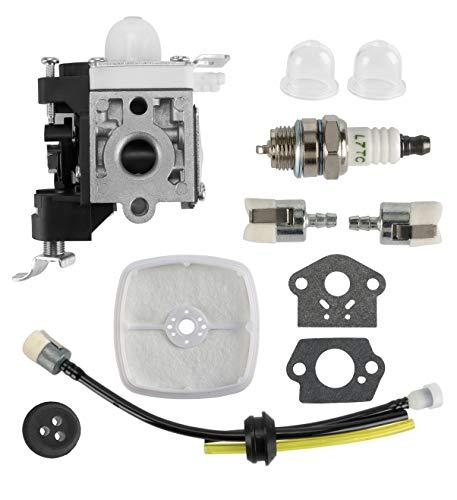 MDAIRC Carburetor with Fuel Line Kit Echo Trimmer for Zama RB-K85 Echo PB-265L PB-251 PB-265LN Blower A021001350 A021001351 A021001352