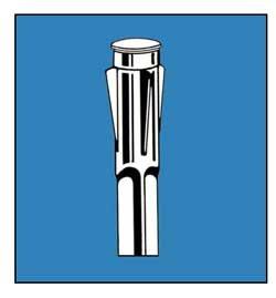 Flagpole Mount Socket - Heavy Duty for Hard Lawns or Concrete 8-12 in x 1-38 in