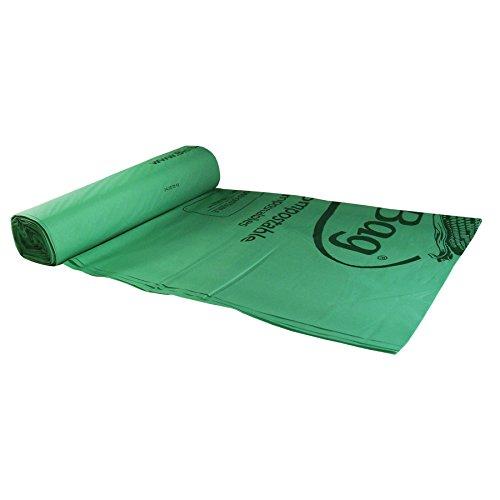 BioBag 48 gallon Compostable Liners 10 Bags8 Rolls per Case 42 x 48
