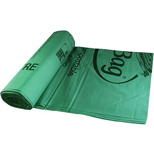 BioBag 60 gallon Compostable Liners 10 Bags8 Rolls per Case 445 x 55