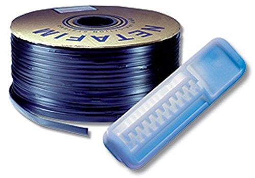 1000ft Drip Tape Irrigation Line 12 spacing 13mil trickle soaker garden hose