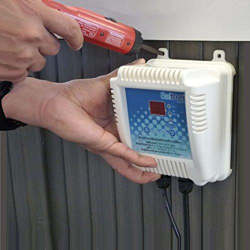 Saltron Mini-ii Salt System Drop-in Saltwater Hot Tubamp Swim Spa Chlorine Generator - New Version Clg02a-2yr With