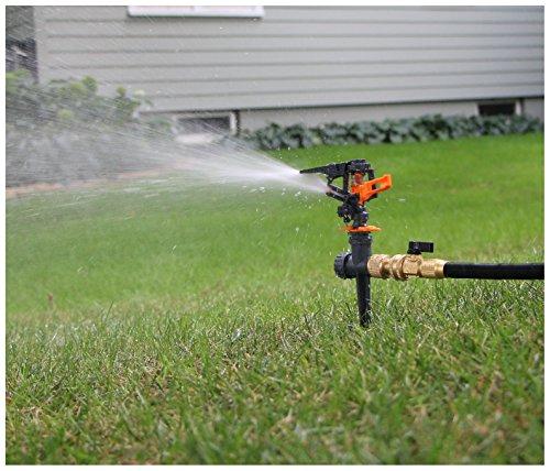 Lawn Sprinklers  Premium Quality Garden Lawn Sprinklers Best Fun Water Sprinkler System - Gardens Kids Love Them by Careful Gardener black spike