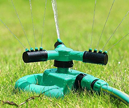 Mini Skater Circular Sprayer Durable Garden Water Hose Splitter 360 Degree Lawn Water Sprinkler Gardening Tool1 Great 3 Fork Lawn Sprinkler